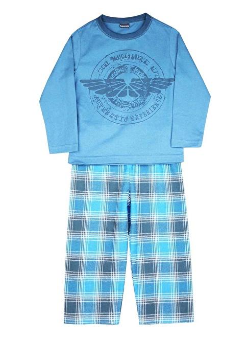 Karamela Pijama Mavi